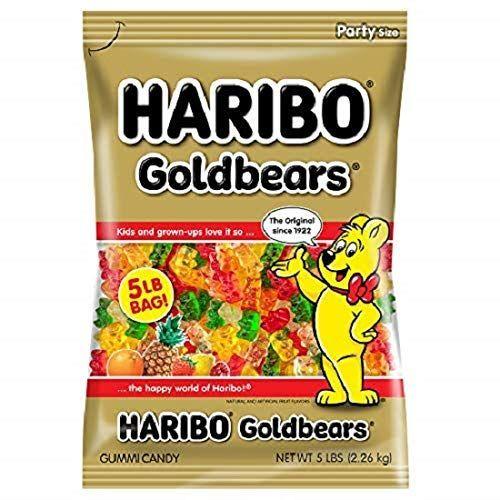 Haribo GOLDBEARS Gummi candy.