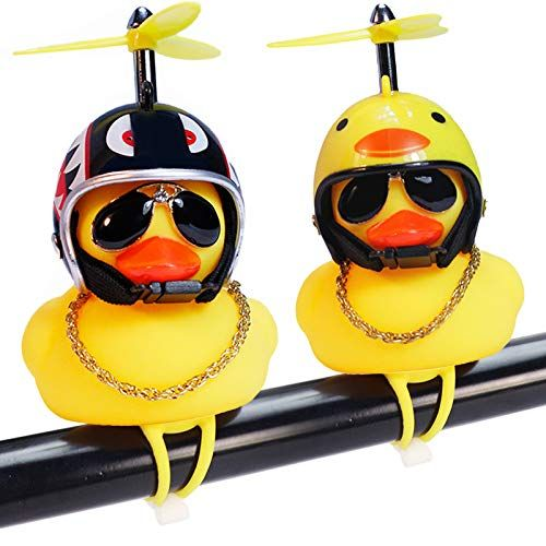 Wonuu rubber duck bicycle bell. (Fun and affordable bicycle accessories)