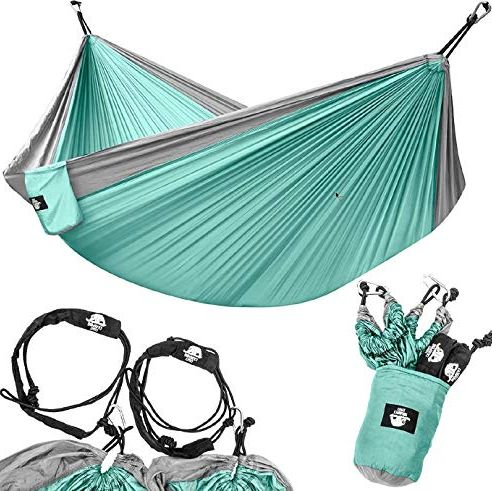 Legit Camping two-person pocket hammock.