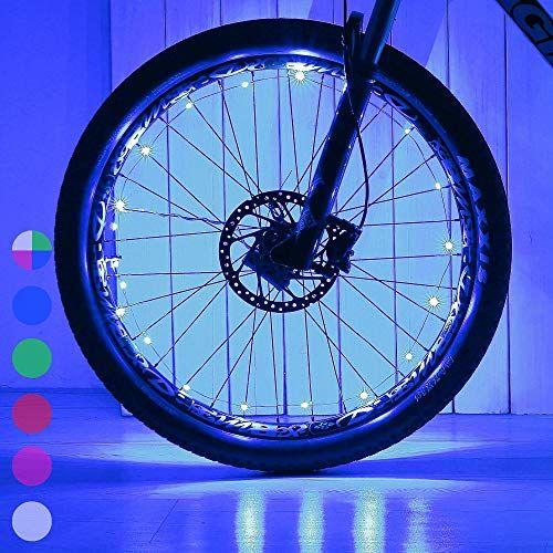 Daway LED bike tire lights.