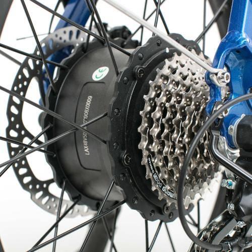 Biktrix Kutty X has a 750-watt Shengyi rear hub motor.