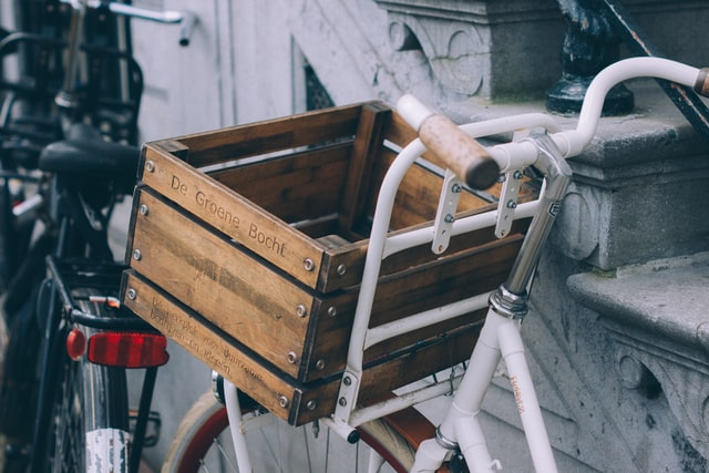 There's many ways to carry cargo on your bike.