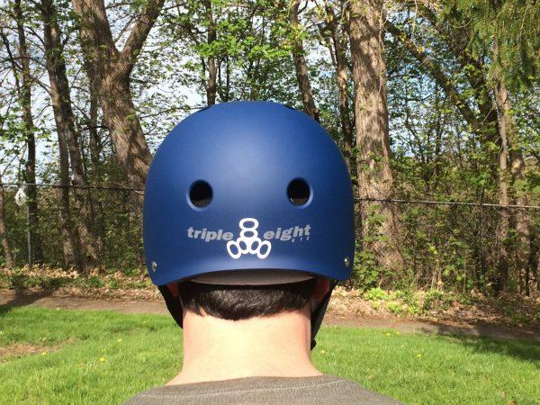 Triple Eight Certified Sweatsaver Helmet.