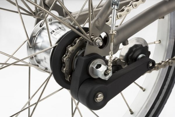 You can tour on a Brompton folding bike with the right gear ratios.