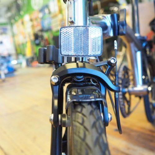 Proprietary parts are used on Brompton bikes.