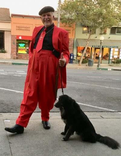 My red Zoot suit.